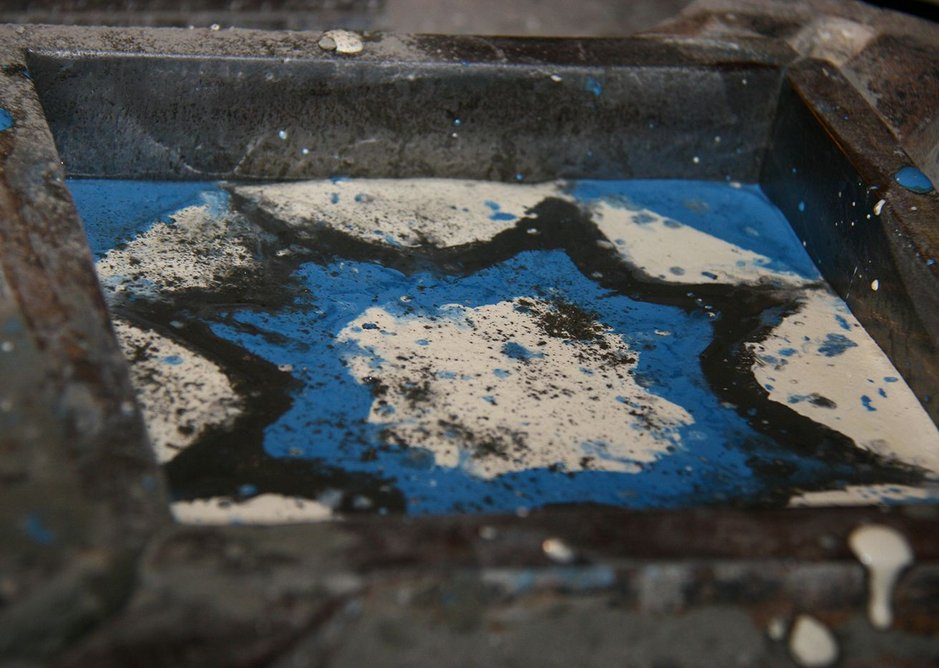 The tile manufacturing process 3.