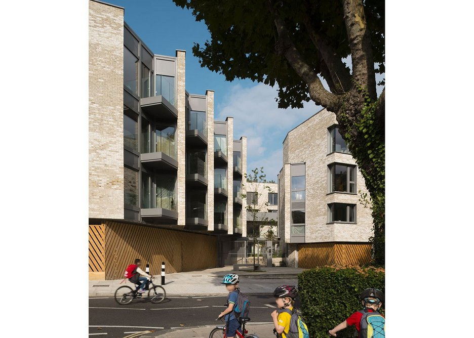 Rick Mather Architects' Chester Balmore development in Camden won the Special Award for Sustainability.