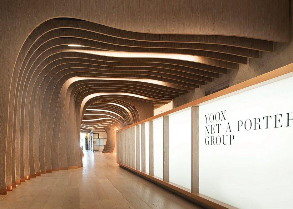 2016: Yoox Net-a-Porter Technology Centre, London, UK.