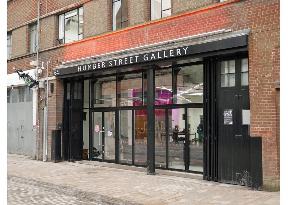 The new Humber Street Gallery for contemporary art.