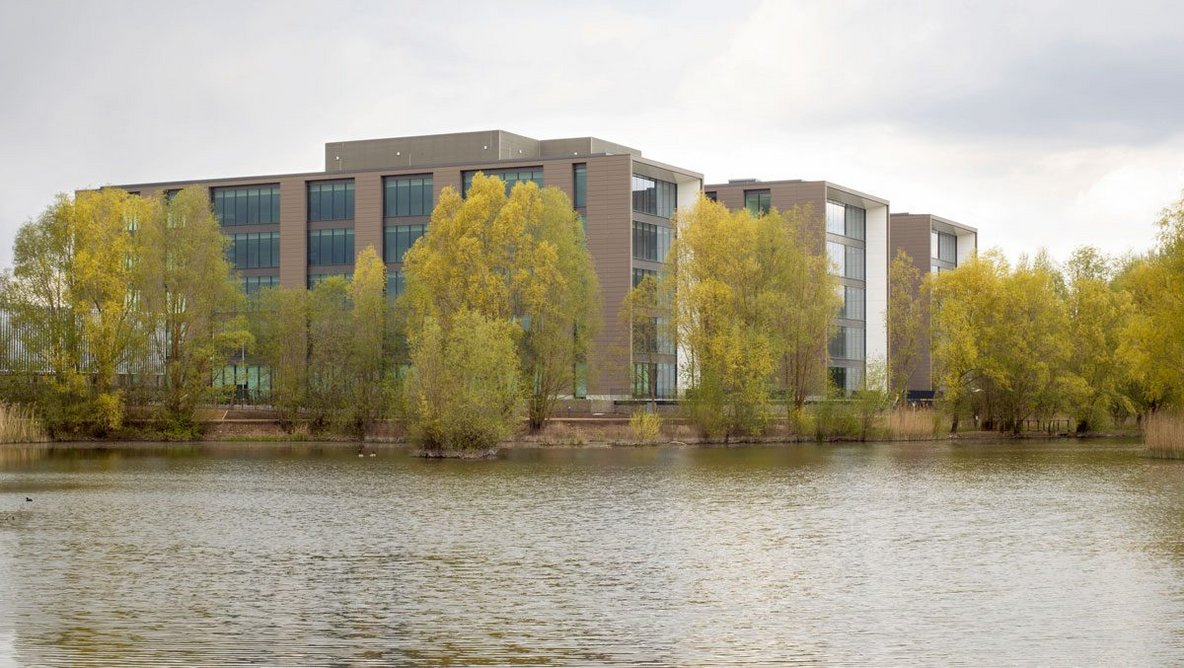 The settings of business parks work in their long-term favour as at Apt's Longwater Avenue.