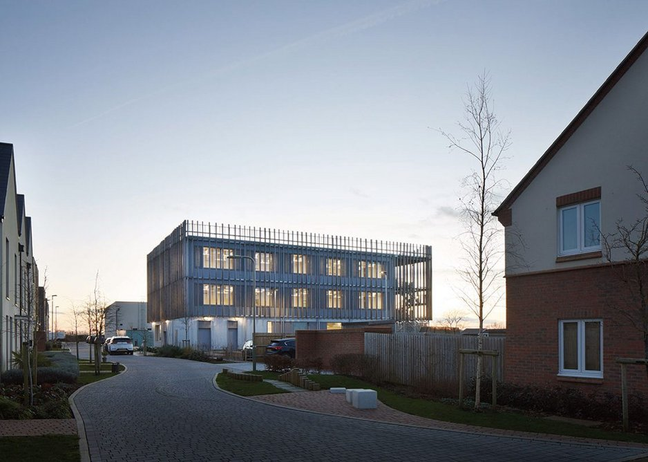Bicester Eco Business Centre.