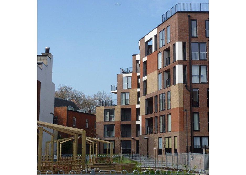 Muro Court, London, 2011 by Sarah Wigglesworth Architects.