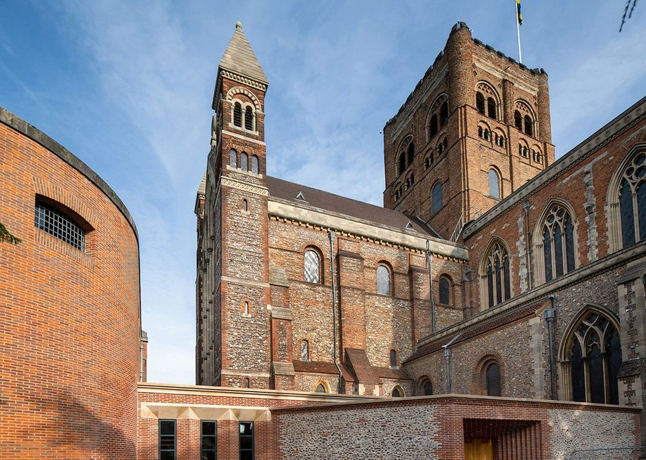 St Albans Cathedral Welcome and Learning Centre.