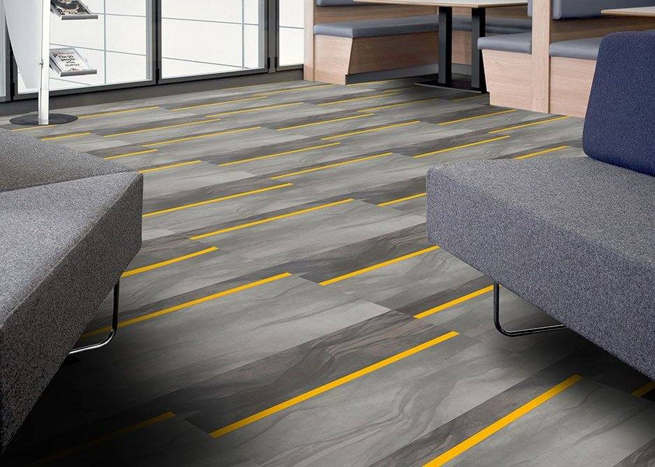 The new 'North Street' laying design from Amtico's new Architects' Choice collection