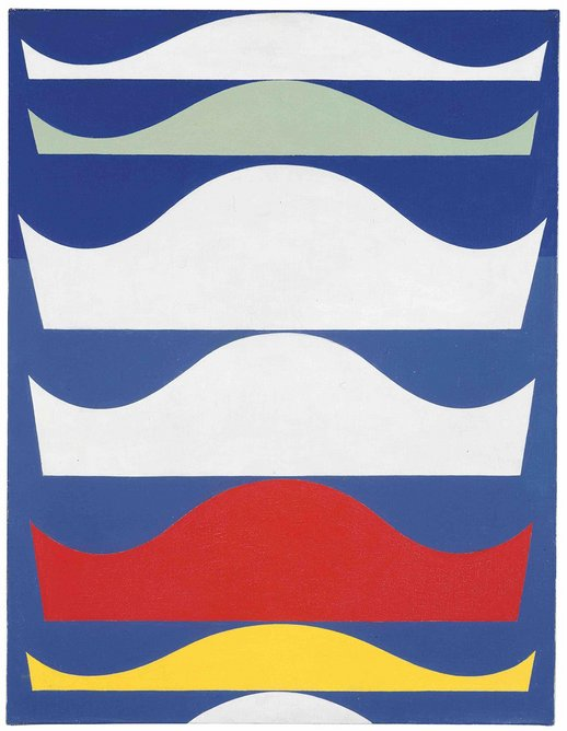 Coloured Gradation by Sophie Taeuber-Arp,1939. Kunstmuseum Bern. Gift of Marguerite Arp-Hagenbach