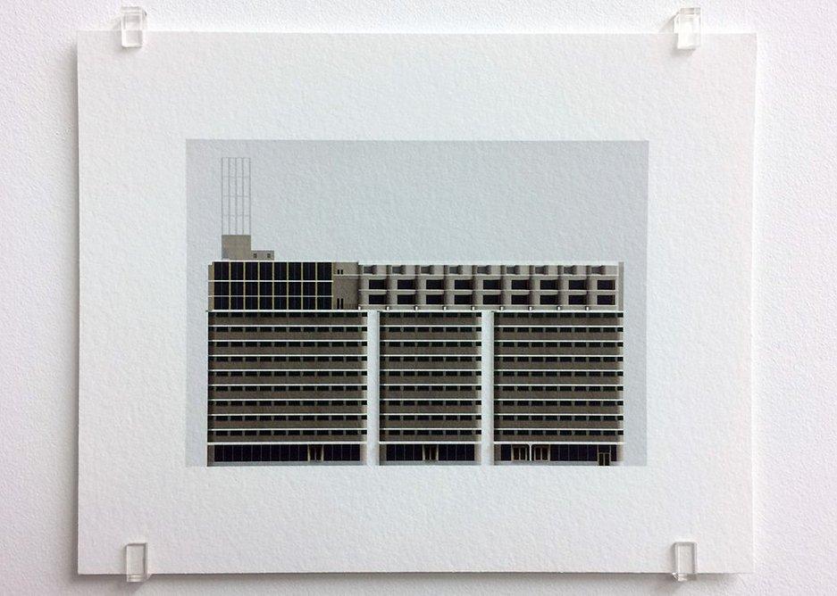 Caruso St John, Veemgebouw, Strijp S, Eindhoven (2007-2010), 2017, photograph, 16.8 x 21 cm, edition of 7,.