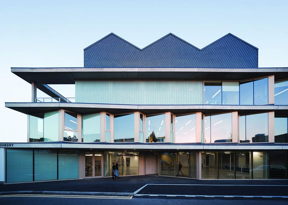 The Foundry social justice centre, Vauxhall, by Architecture.