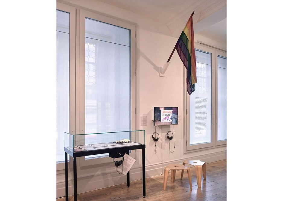 Queer Spaces: London, 1980s – Today, 2019, installation view.