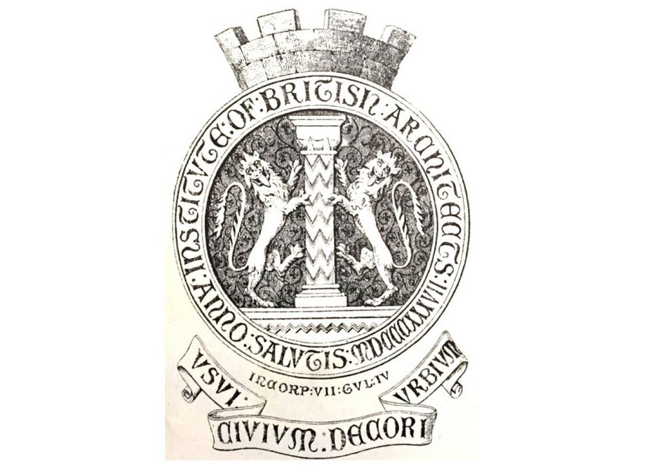 The First Badge to be Generally Used. Designed in 1836-7 and in use until 1891.