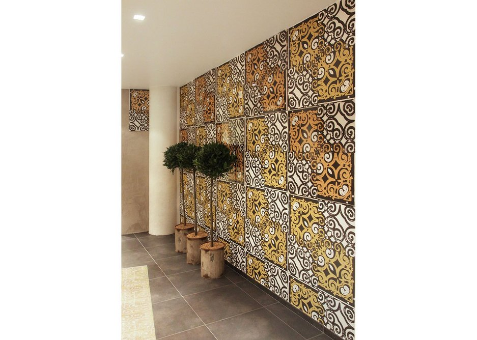 Ceracasa's Emotile can be customised with imagery by architects and end-consumers alike www.ceracasa.com