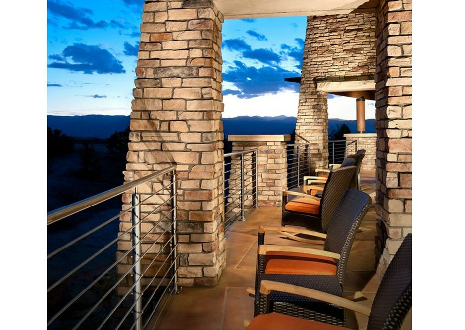 A round all-steel solution at Sundial House, Colorado.
