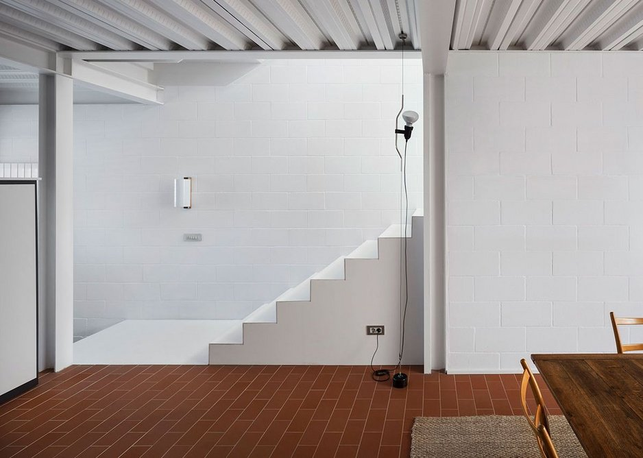 The 'House Overlooking the Sea' in El Port de la Selva, Catalonia, was winner of the Interior Design category. By Xavier Martí and Lucía Ferrater.