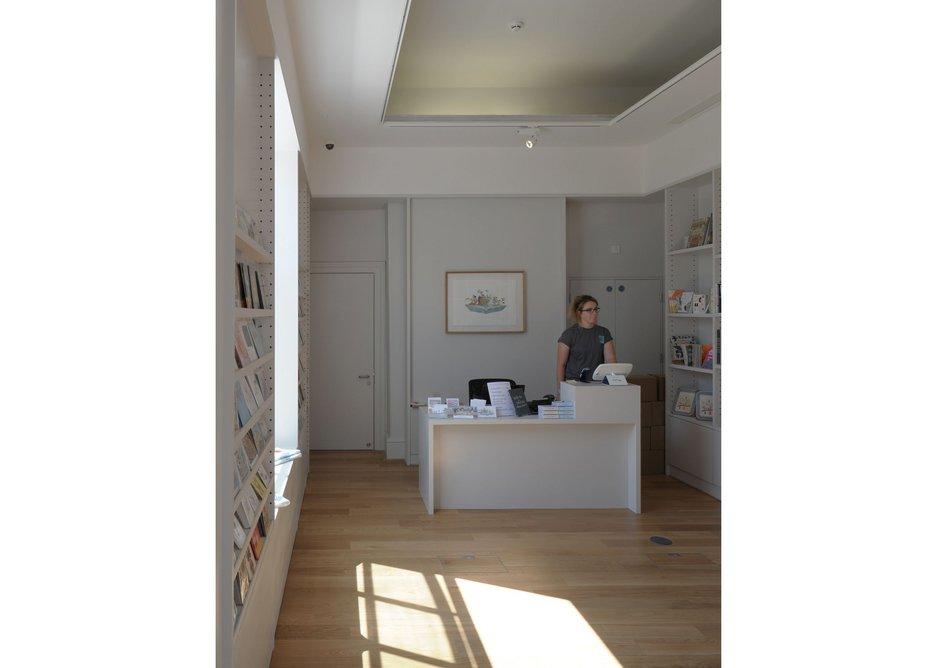 House of Illustration's shop.