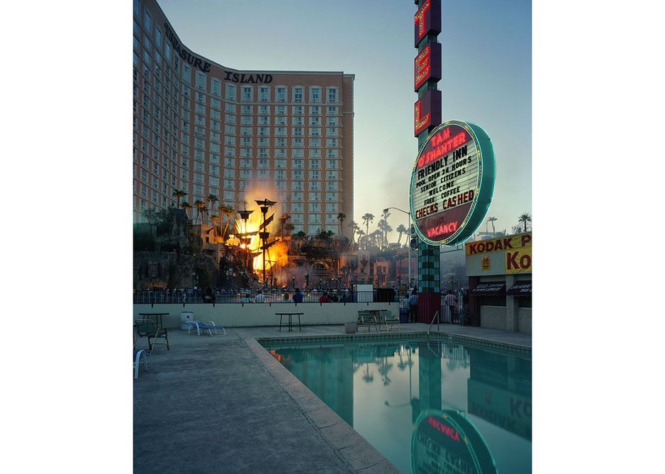 The Tom O'Shanter Motel by Fred Sigman (1995), from the new book Motel Vegas .