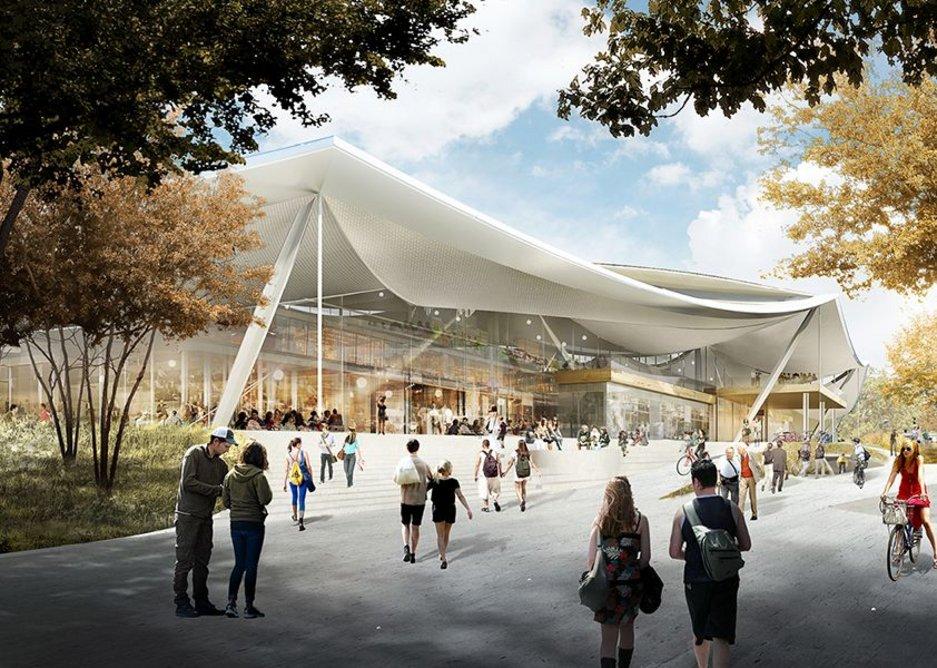 Google HQ Mountain View.