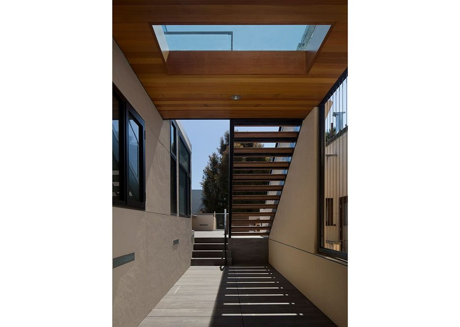 Glazing Vision has been specified at a roof terrace project in San Francisco.