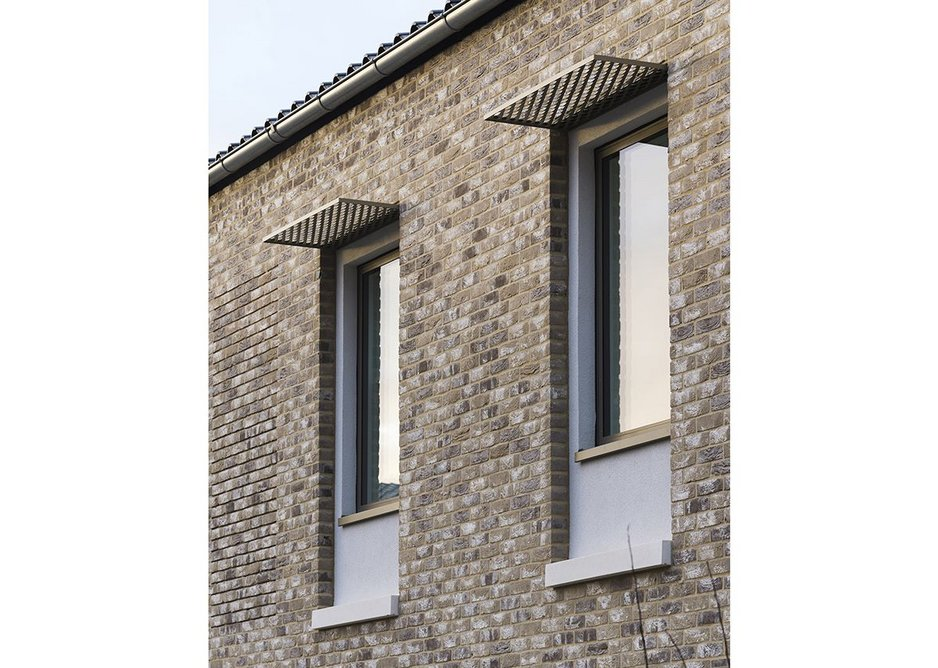 Ensuring windows get the sun for Passivhaus means shading is also important.