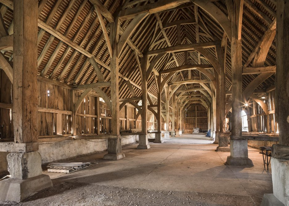 Education and Public Sector – Harmondsworth Barn conservation and repair by Ptolemy Dean Architects. It is 590 years old, you know.