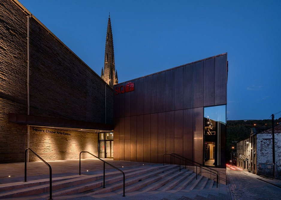 Square Chapel Arts Centre.