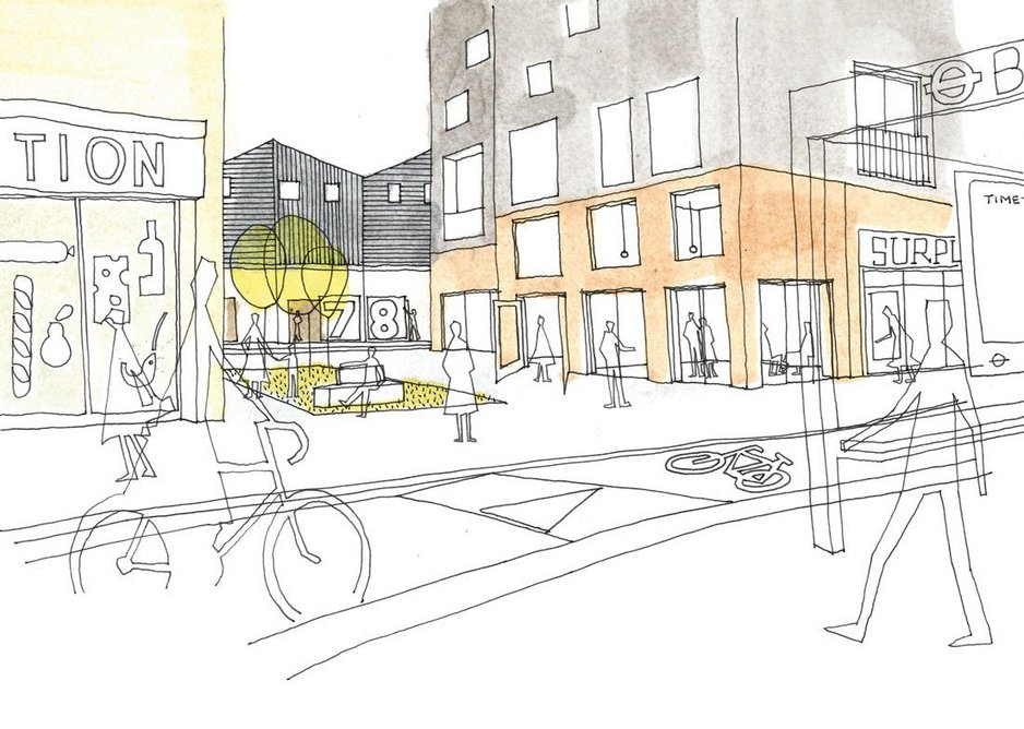 Part of the Park Royal Centre masterplan in West London – the 'amenity yard