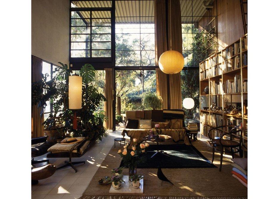 Eames House Living Room. Photo Antonia Mulas.