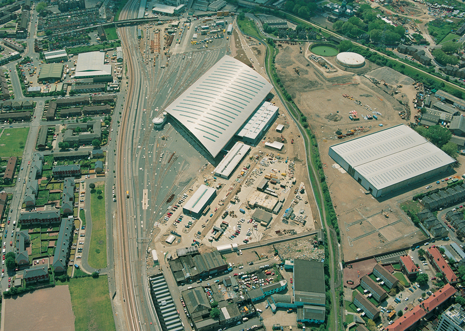Stratford Market Depot, described by Chris Wilkinson as the practice's breakthrough project.