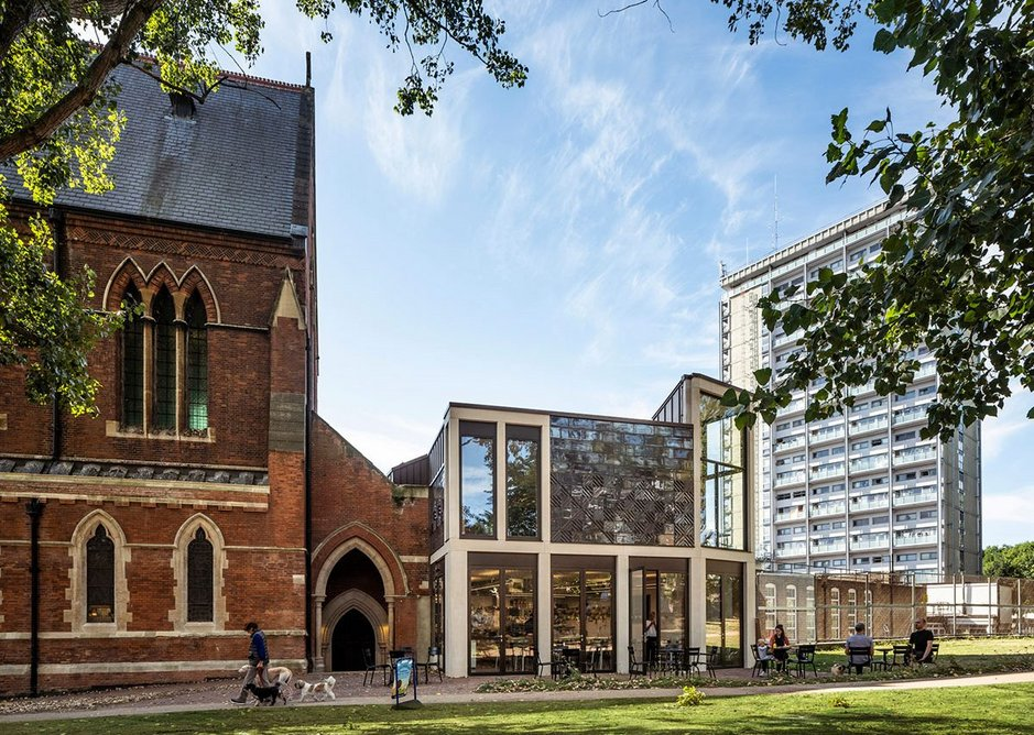 Reconditioned and extended St Mary Paddington enriches deprived estate.