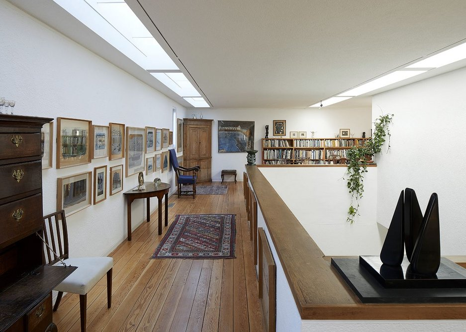 The untouched Martin and Owers house extension blends domestic and public architecture.