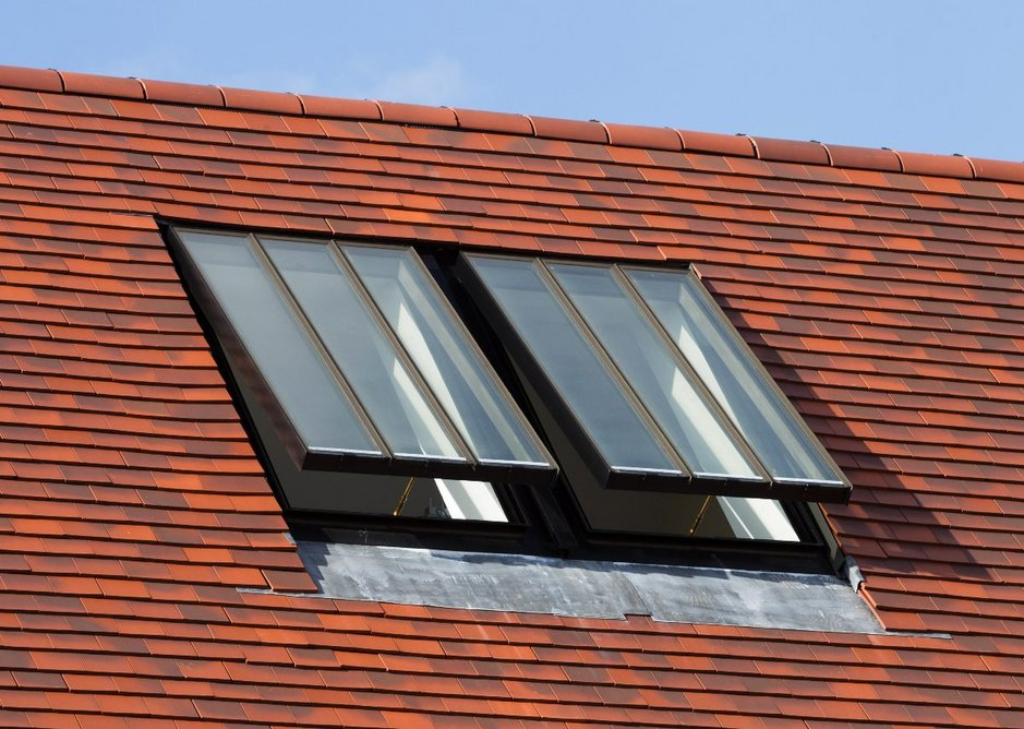 Conservation Rooflights have a top-hinged opening (as opposed to centre-pivoted) for an authentic appearance.