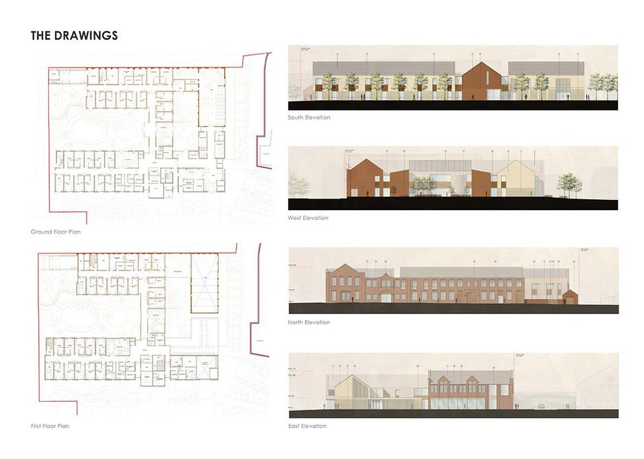 Plans and elevations.