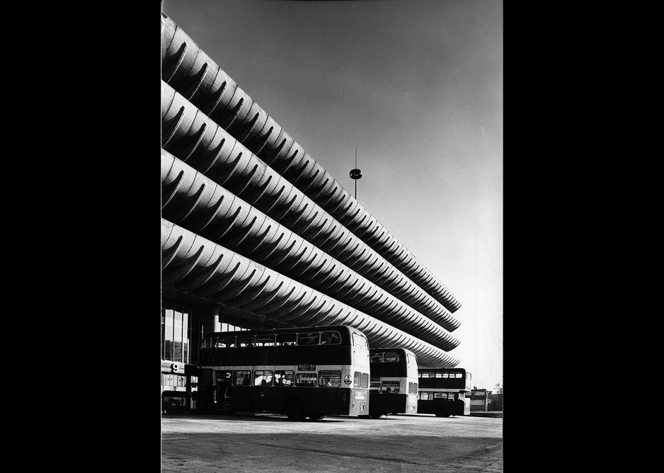 Preston Bus Station, Grenfell Baines & Hargreaves 1968-9.