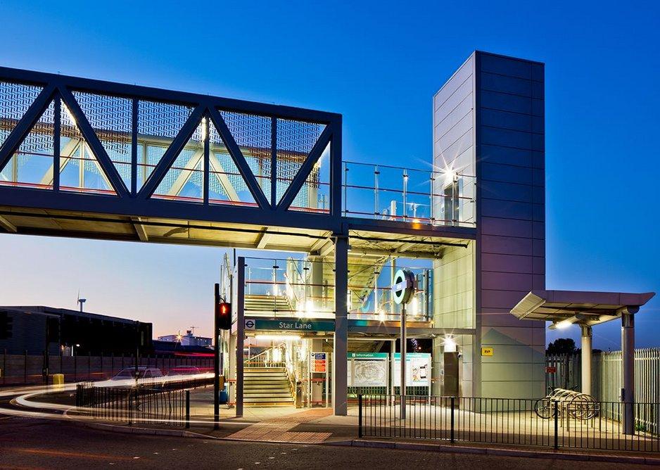 DLR Stratford International Extension.