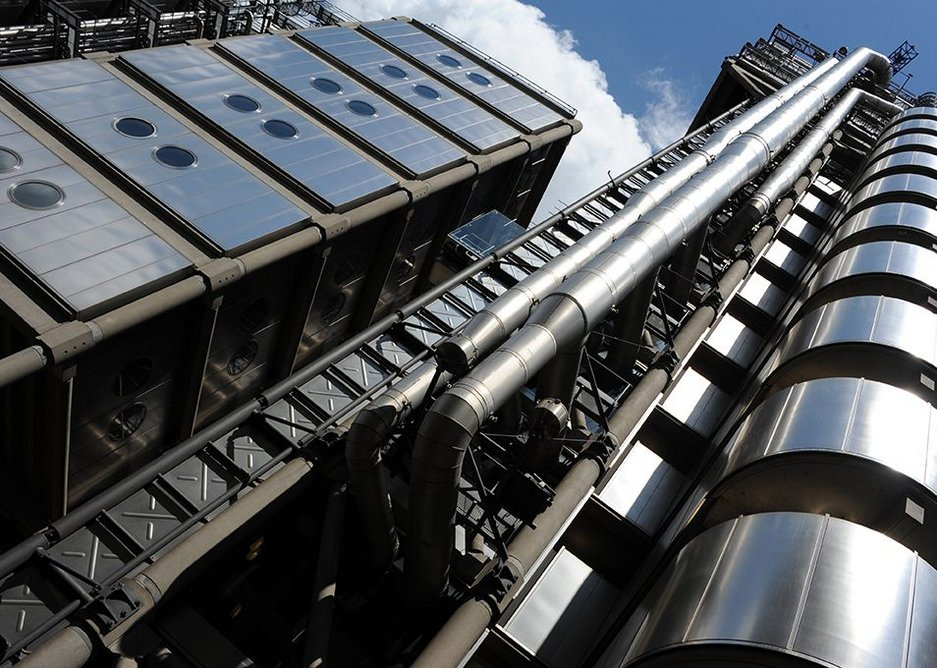 Richard Rogers: 'One must be careful about freezing buildings, I think there's a real danger of that.  But I don't regret Lloyd's being Iisted.'