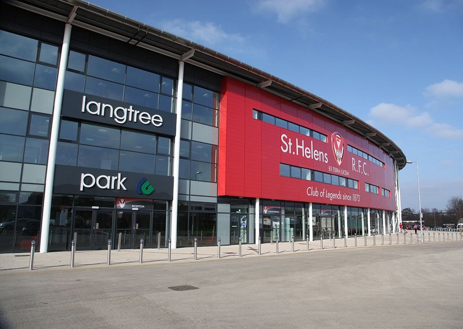 Langtree Park, new home to St Helens' Saints.