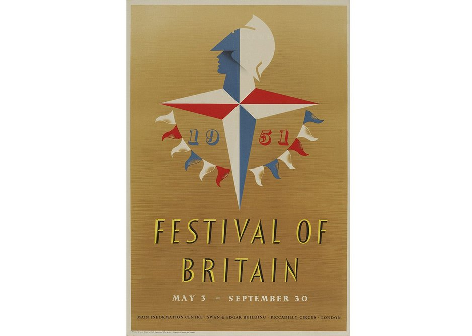 Festival of Britain Poster by Abram Games