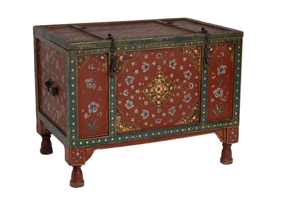 Wedding chest, c1888.