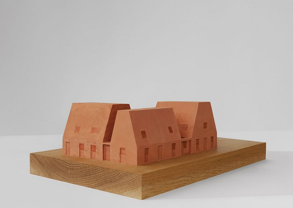 Multi-housing model by EBBA Architects.