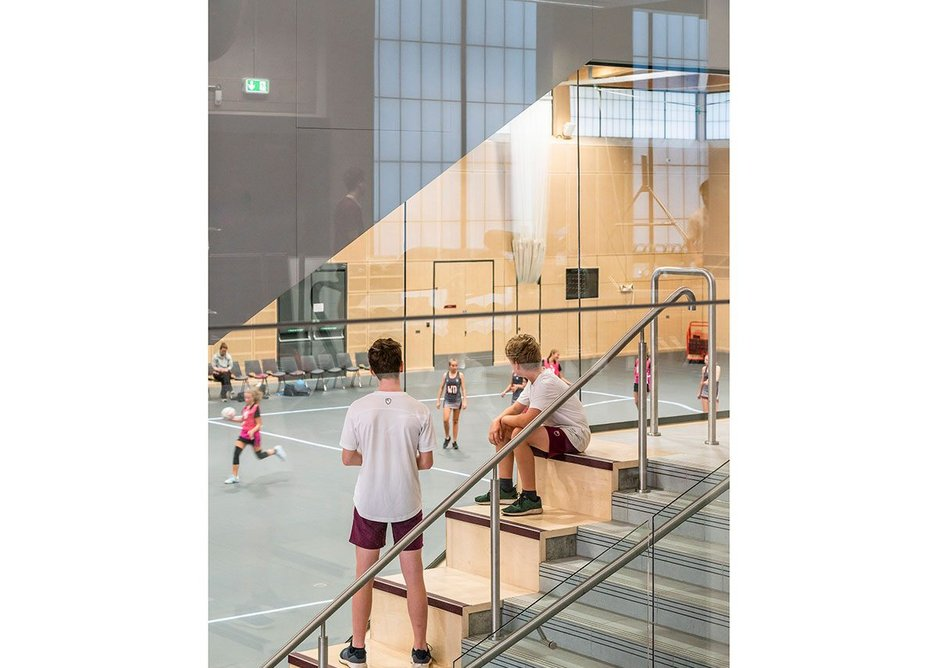 Transparency at Scott Brownrigg's St George's Activity Centre.