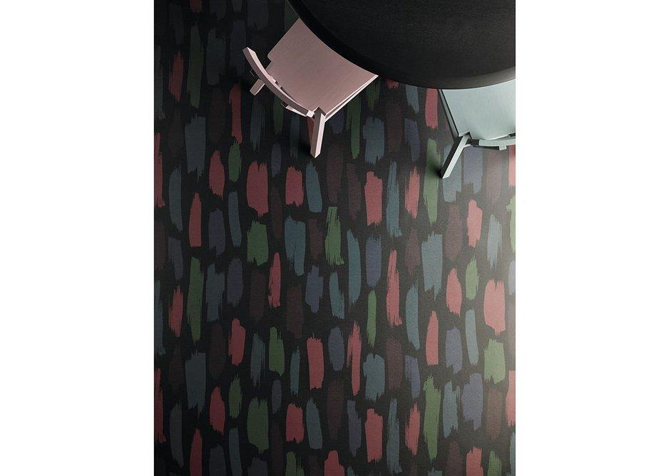 Forbo's Eternal Colour vinyl flooring in Dark Paint 45132.