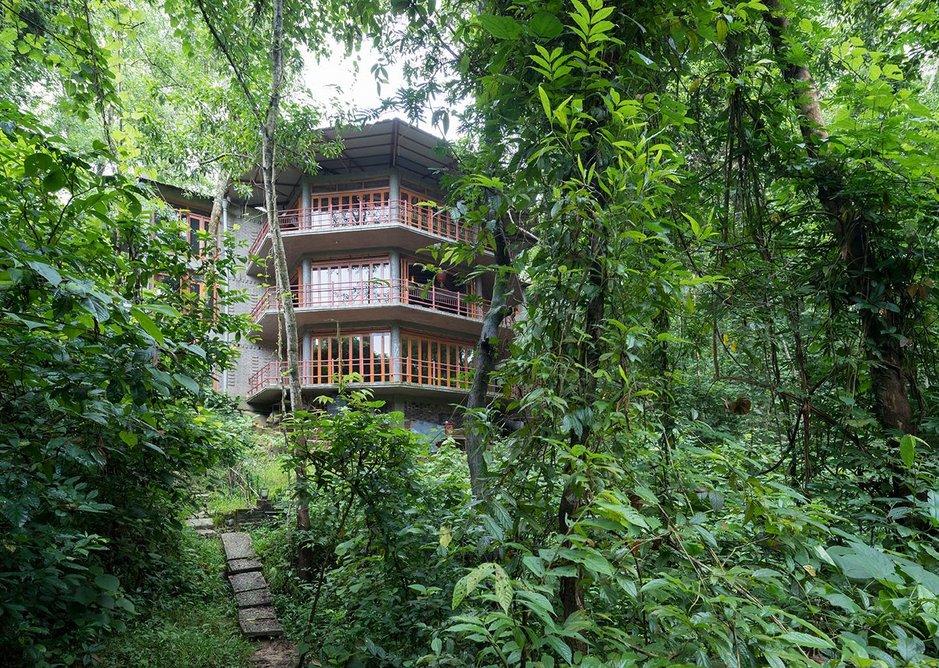 Shuktara Nature Retreat, Khadimnagar, Sylhet. Architect: Zarina Hossain.