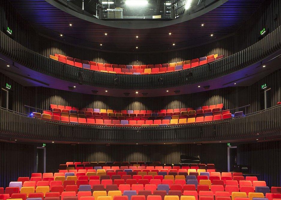 Theatre auditorium.