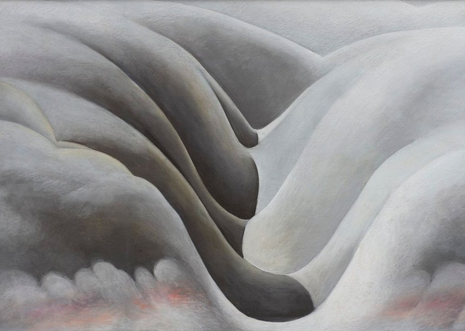 The Black Place III, by Georgia O'Keeffe, 1945. Private collection.