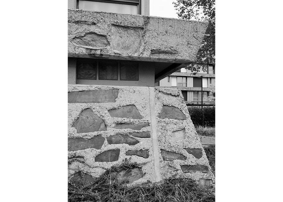 'Les Bleuets' apartment blocks, designed by Paul Bossard, 1959-62.