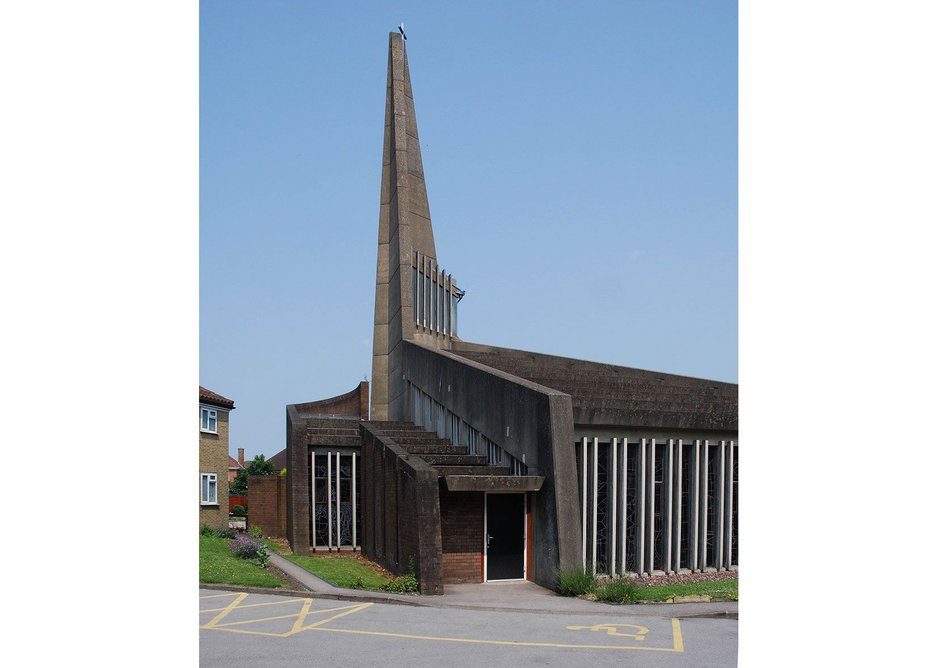 Birmingham, Sheldon, St Thomas More church.