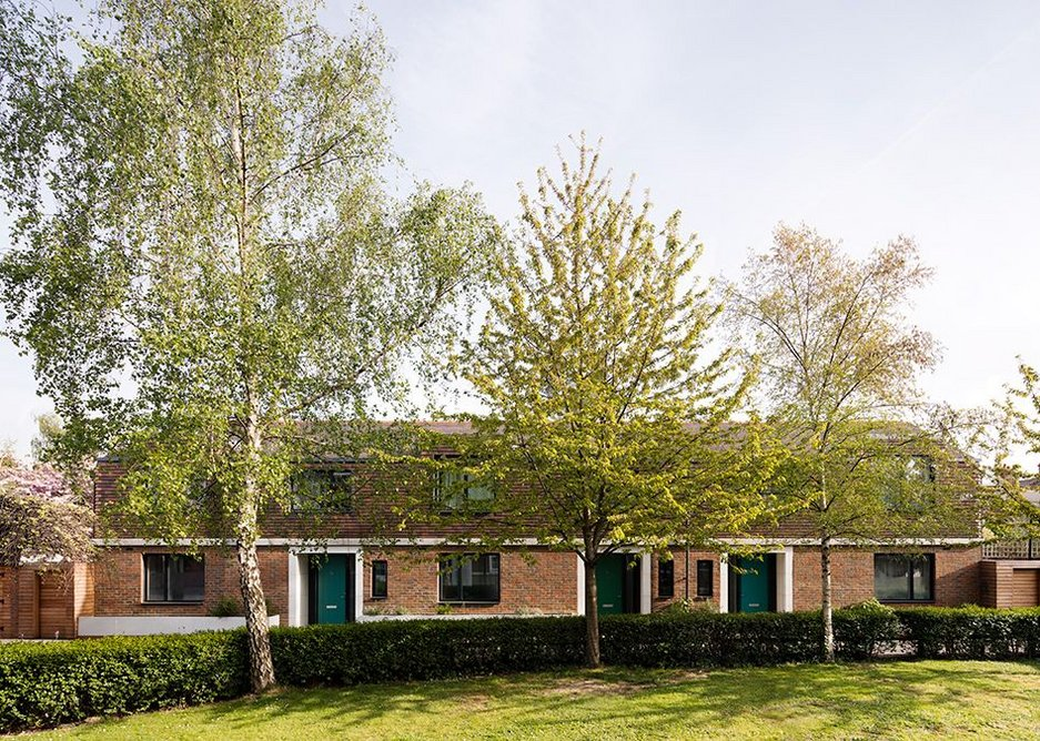 Three new homes in Shepherd's Bush are beautifully set off by mature silver birch and cherries.