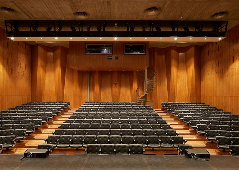 The newly refurbished Purcell Room.