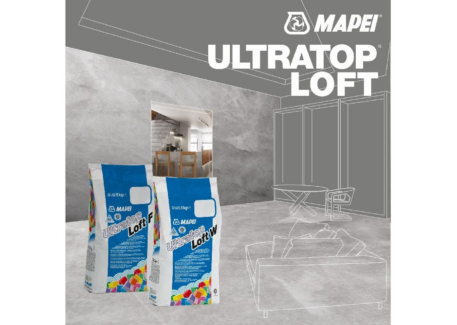 Mapei Utratop Loft: original bespoke floors.