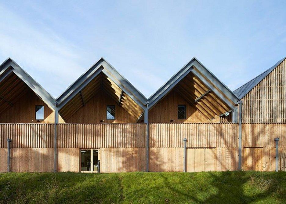 Bedales School of Art & Design Building by Feilden Clegg Bradley Studios.