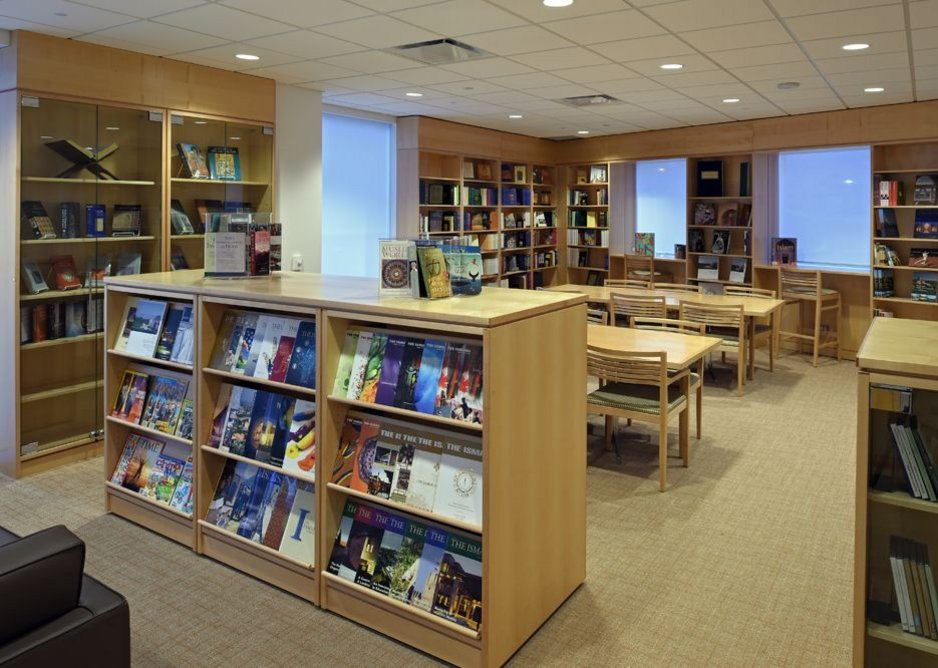 The library hosts reading and story time sessions for children and acts as a welcoming space for the community.